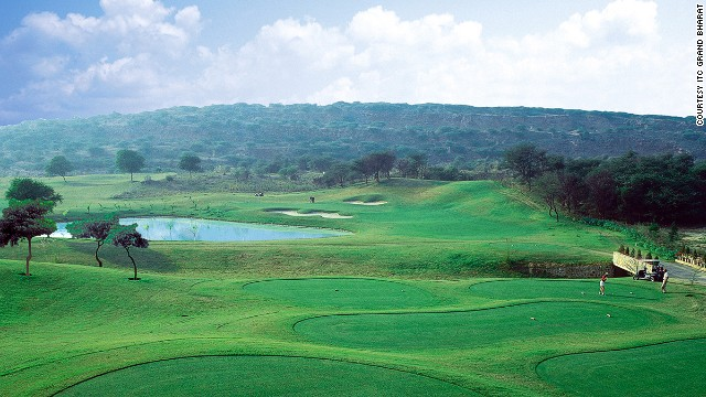 This spectacular 27-hole golf course is the first in south Asia designed by Jack Nicklaus. The course is made up of three smaller courses -- the Canyon, Ridge and Valley courses -- which can be played individually or together.