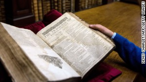 Library discovers rare Shakespeare text