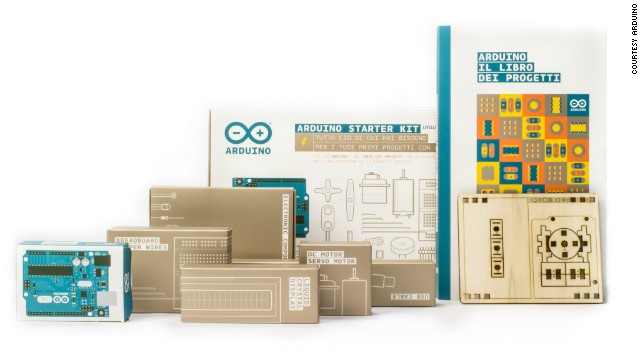 A Starter Kit contains all the needed components and accessories to complete 15 different projects