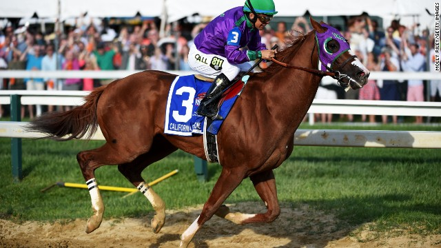 California Chrome has enjoyed highs in 2014 but also a few lows, yet he could still be crowned Horse of the Year in the U.S.