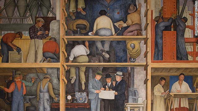The business exec 39 s guide to san francisco for Diego rivera mural san francisco art institute