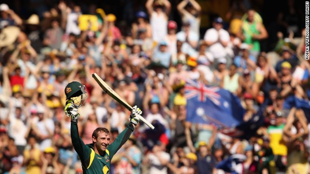 In January 2013, Hughes became the first Australian to make a century in his maiden one-day game. Against Sri Lanka in Melbourne, he made 112 runs from 129 balls.