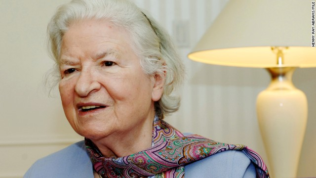 British crime novelist <a href='http://ift.tt/1rrEtRW' target='_blank'>P.D. James</a> died November 27 at her home in Oxford, England. She was 94.