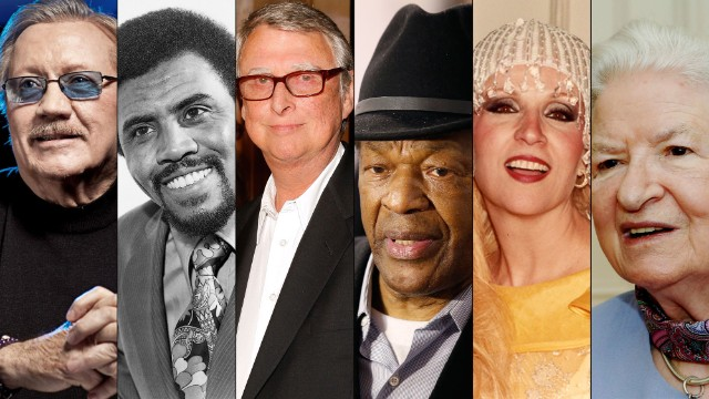 Click through to see people who died in 2014.
