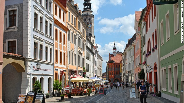 """Perhaps the most picturesque prewar German town, Goerlitz has been the film set for various films including """"The Reader,"""" """"Inglorious Basterds"""" and """"The Book Thief."""""""