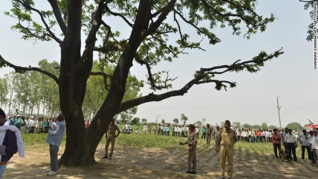 Justicia de India resuelve caso de dos jovenes que fueron encontradas colgadas