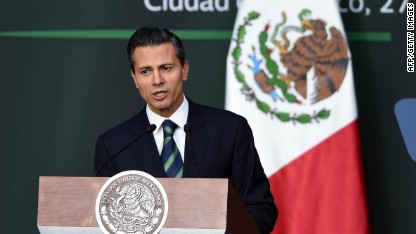 Mexico leader: Country must change
