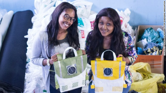 <a href='http://www.repurposeschoolbags.com/' target='_blank'>Repurpose Schoolbags</a> is the first green initiative from Rethaka, a South Africa-based social startup founded by childhood friends-turned-business partners Thato Kgatlhanye and Rea Ngwane.