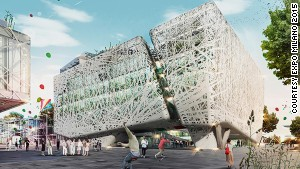With spectacular pavilions like this, architecture will dominate Milan\'s Expo.