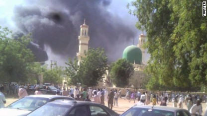 Report: Dozens killed in mosque bombing
