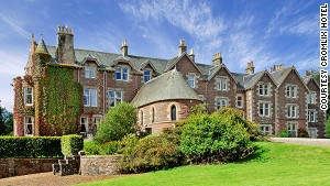 Andy Murray's hotel offers clay pigeon shooting, archery and tennis.