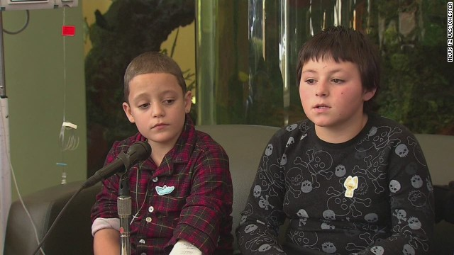 Rescued boys: We thought we would die