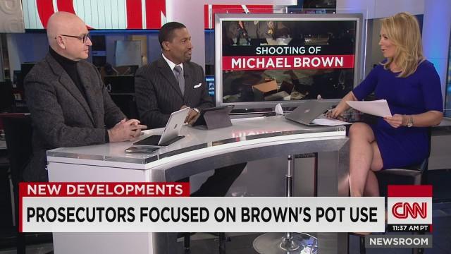 Prosecutor focused on Michael Brown's pot use