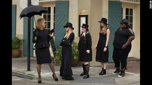 """<strong>""""American Horror Story: Coven""""</strong>: The witchy good times roll in this New Orleans-set season of Ryan Murphy's """"American Horror Story."""" <strong>(Netflix)</strong>"""