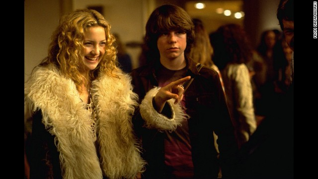 """<strong>""""Almost Famous"""" (2000)</strong>: Kate Hudson and Patrick Fugit star in Cameron Crowe's rock drama about a young music journalist who goes on tour with an up-and-coming band in the'70s. <strong>(Netflix)</strong>"""