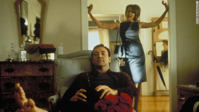 """<strong>""""American Beauty"""" (1999)</strong>: Kevin Spacey stars in this Oscar-winning film that tells the story of a suburban father in the middle of a midlife crisis who becomes obsessed with his teen daughter's friend. <strong>(Netflix)</strong>"""