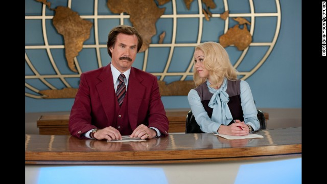 """<strong>""""Anchorman 2: The Legend Continues"""" (2013)</strong>: Will Ferrell, Christina Applegate and more return in this sequel to 2004's hit """"Anchorman: The Legend of Ron Burgundy."""" <strong>(Netflix, Amazon)</strong>"""