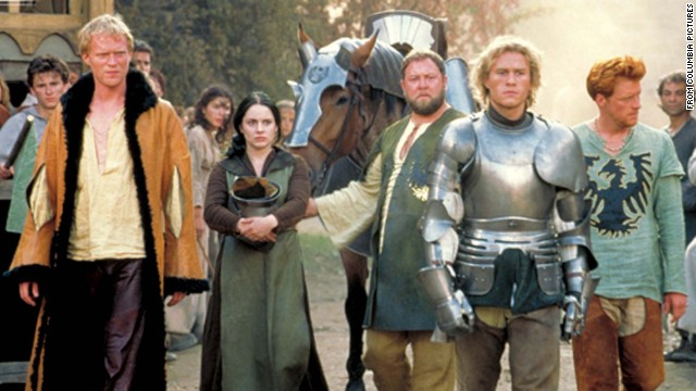 """<strong>""""A Knight's Tale""""</strong> <strong>(2001):</strong> A squire pulls himself up to become a knight in this drama which takes its title (but not the story) from Chaucer's """"The Knight's Tale."""" <strong>(Netflix)</strong>"""