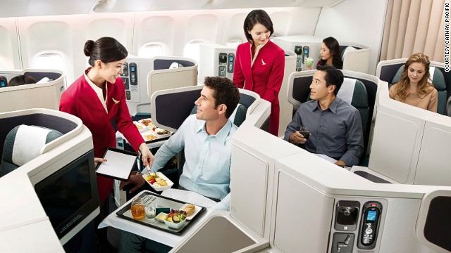 Cathay Pacific makes the number three position in the best airline list. It is also named Best Business Class.