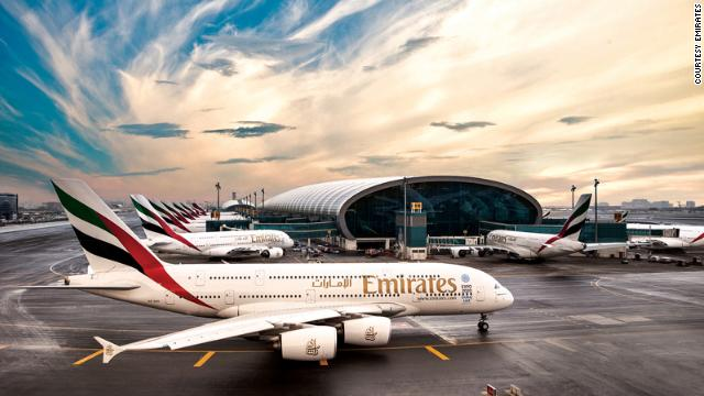 Emirates hits the number five position. It also wins the Best In-Flight Entertainment award for a system that allows passengers to play a range of games and access more than 1,800 channels of movies, music hits and TV shows.