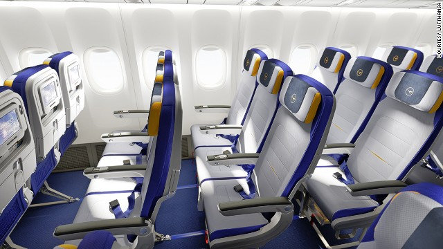 Lufthansa, at number eight, offers limitless internet on 90% of its long-haul flights.
