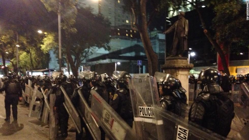 Marchas en Ciudad de México