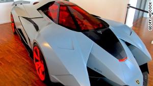 Stealth sports car: A 2013 Lamborghini Egoista