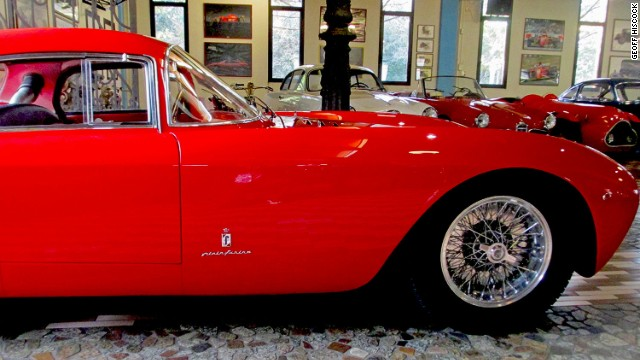 This 1953 Maserati A6 GCS Berlinetta is part of the Panini Collection in Modena. The Paninis stepped in to prevent many classic Maseratis selling at auction in London.