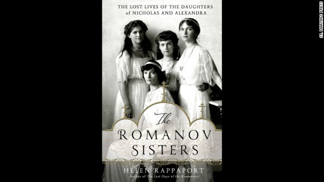 <strong>History: </strong>Sometimes, the truth can be better than fiction, and that's the case with Helen Rappaport's <a href='https://www.goodreads.com/book/show/18404173-the-romanov-sisters' target='_blank'>in-depth look into the lives</a> of the four Romanov sisters: Olga, Tatiana, Maria and Anastasia.