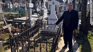 Grave concerns: Ceausescu's original burial plot lies vacant