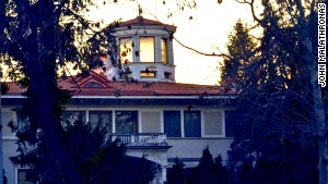 Diplomatic solution: Ceausescu's old villa is now an embassy.