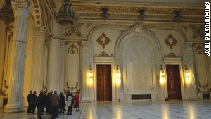 Today only 70% of the vast Presidential Palace is in use.