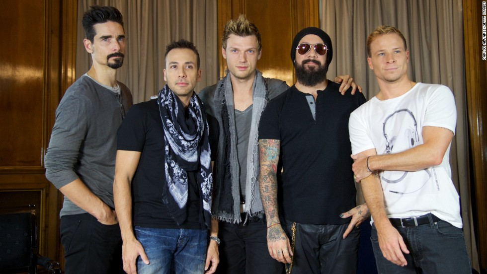 """A documentary about the the Backstreet Boys hits theaters January 30, <a href='http://variety.com/2014/film/news/backstreet-boys-documentary-set-for-jan-30-release-by-gravitas-1201369140/' target='_blank'>Variety reports.</a> In 1996, the group released their debut album, """"Backstreet's Back."""" Five more albums followed. After parting with the group years ago, Kevin Richardson, left, recently rejoined Howie Dorough, Nick Carter., A.J. McLean and Brian Littrell."""