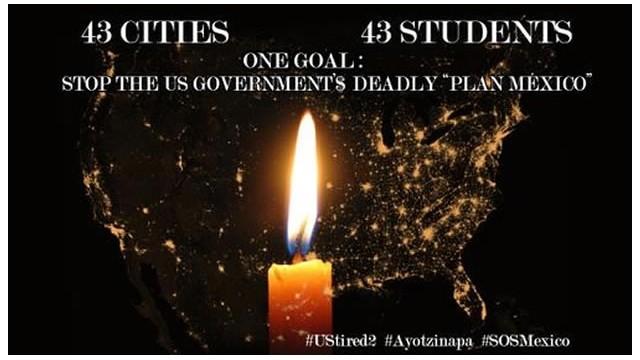 Encenderán velas en 43 ciudades de EE.UU. por la paz en México