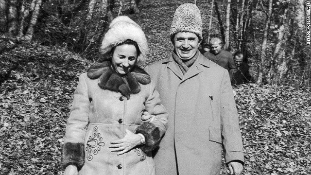 After the army turned against them, Ceausescu and his wife Elena were executed on December 25, 1989.