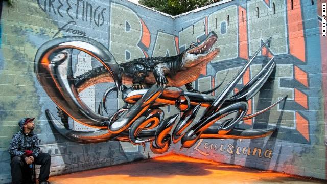 Espectaculares ilusiones artísticas callejeras
