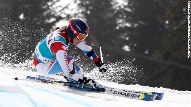 She loves skiing with all her heart, but Switzerland's Dominique Gisin's career might have taken a very different trajectory.