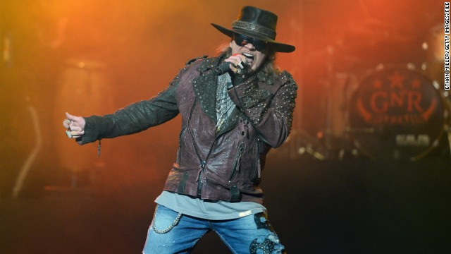 "In early December, the Internet was briefly tricked into believing that rocker Axl Rose had passed away at 52. The reports were false, and Rose responded to the death hoax with good humor: ""If I'm dead, do I still have to pay taxes?"" <a href='https://twitter.com/axlrose/status/540309216703954944' target='_blank'>he asked on Twitter. </a>"