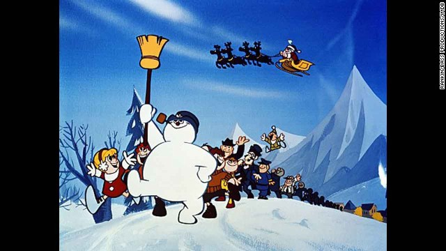 """Frosty the Snowman"" (1969): For a lot of kids, the dream of seeing a hand-crafted snowman come to life can be traced directly to another Rankin/Bass special, ""Frosty the Snowman."""