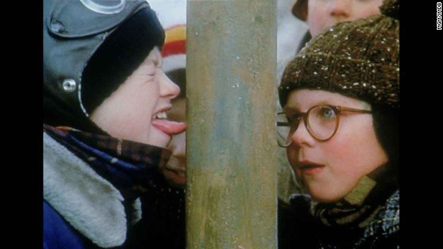 """A Christmas Story"" (1983): This enduring '80s comedy has taught us three things: 1. Never lick a flagpole. 2. ""You'll shoot your eye out!"" 3. We're incapable of celebrating the holidays until we've watched this movie at least once. OK, more like twice."