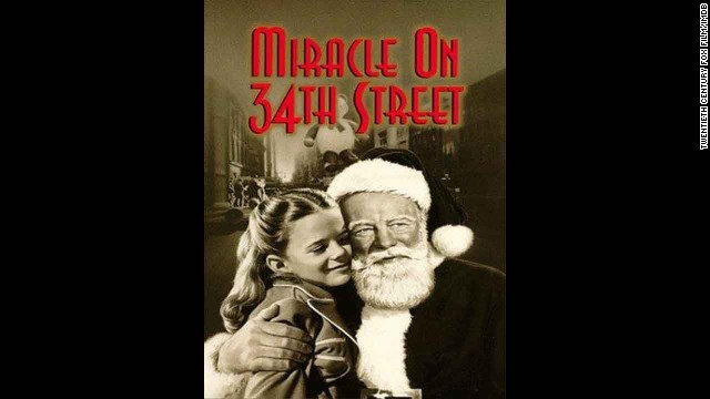"""Miracle on 34th Street"" (1947): After so many decades, this is still a mainstay each holiday season. (And that's even after a 1994 remake.) Starring Maureen O'Hara, John Payne and a young Natalie Wood, this story never loses its magic."