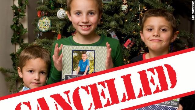 Los padres que cancelaron la Navidad y las lecciones que dieron
