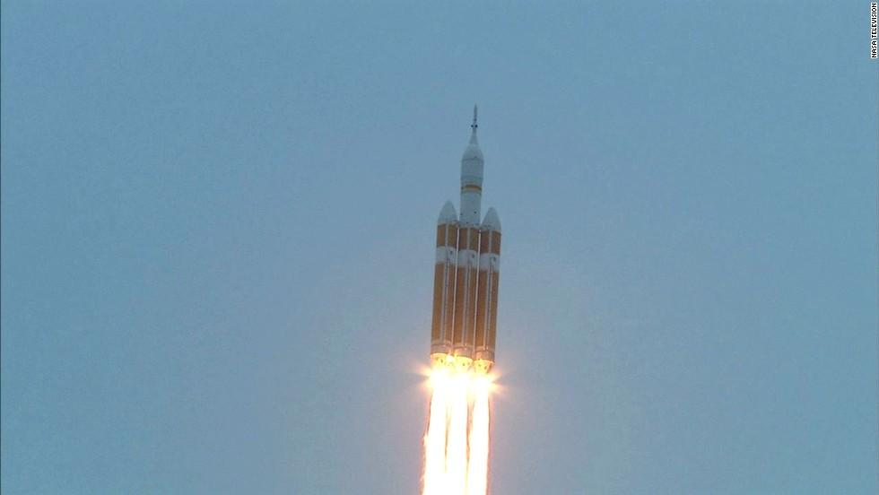 NASA, cada vez más cerca de Marte con Orion