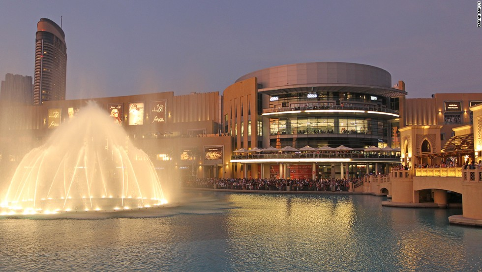 10. Dubai Mall (Dubai, Emiratos Arabes Unidos)
