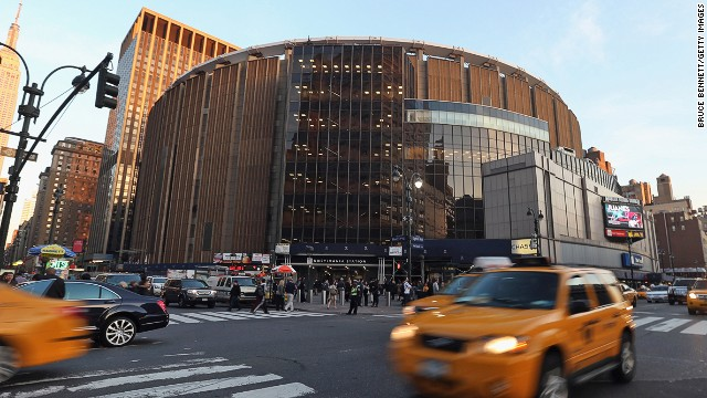 New York's multi-purpose indoor arena Madison Square Garden is the eighth most popular location on Instagram this year. It's home to New York Knicks of the NBA and New York Rangers of the NHL as well as the venue of many concerts.