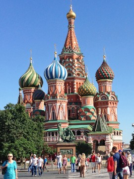 Moscow has two new entries on the list this year. Named the seventh most Instagrammed place, Red Square, or Krasnaya Ploshchad, is one of the most popular attractions in Moscow.