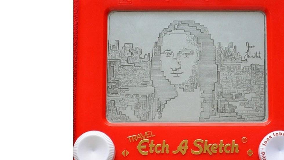 Cuando dibujar en Telesketch se eleva a la categoría de arte