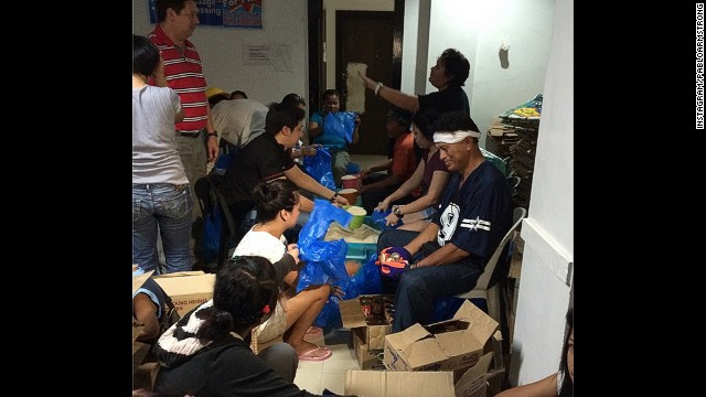 The Tacloban relief effort takes place under the watchful eye of the mayor.