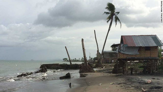 San Jose was one of the hardest hit parts of Tacloban during last year's disaster.