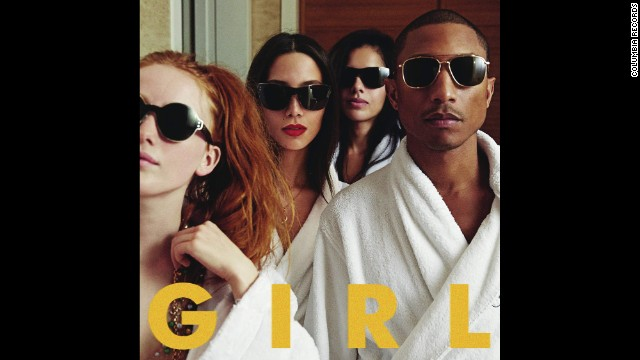 """Album of the year nominee: """"Girl"""" by Pharrell Williams"""